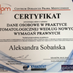 Aleksandra Sobanska certyfikat-1