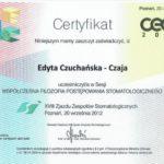 Edyta Czuchanska-Czaja certyfikat-15
