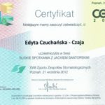 Edyta Czuchanska-Czaja certyfikat-17