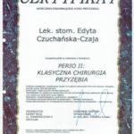 Edyta Czuchanska-Czaja certyfikat-26