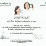 Edyta Czuchanska-Czaja certyfikat-29