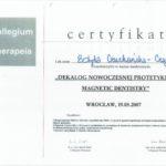 Edyta Czuchanska-Czaja certyfikat-39