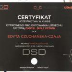 Edyta Czuchanska-Czaja certyfikat-4