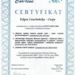 Edyta Czuchanska-Czaja certyfikat-41