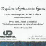 Edyta Czuchanska-Czaja certyfikat-43