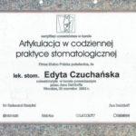 Edyta Czuchanska-Czaja certyfikat-44