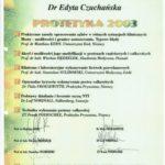 Edyta Czuchanska-Czaja certyfikat-50
