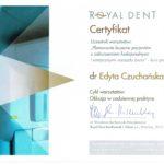 Edyta Czuchanska-Czaja certyfikat-51