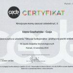 Edyta Czuchanska-Czaja certyfikat-56