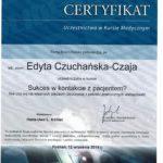 Edyta Czuchanska-Czaja certyfikat-57