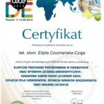 Edyta Czuchanska-Czaja certyfikat-58