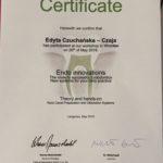 Edyta Czuchanska-Czaja certyfikat-7