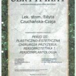 Edyta Czuchanska-Czaja certyfikat-8