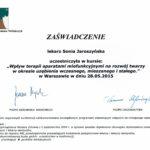 Sonia Jaroszynska certyfikat-16