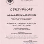 Sonia Jaroszynska certyfikat-4