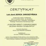 Sonia Jaroszynska certyfikat-5